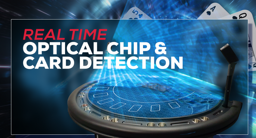Real time optical chip and card detection